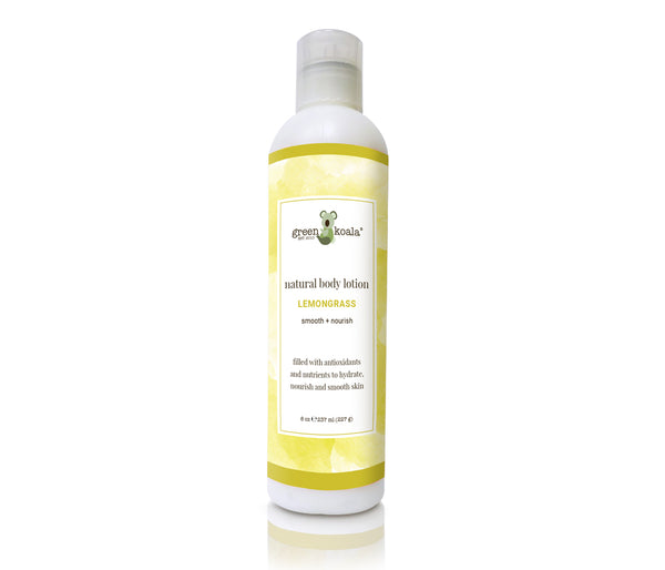 Organic Paraben-Free Lemongrass Moisturizing Face & Body Lotion