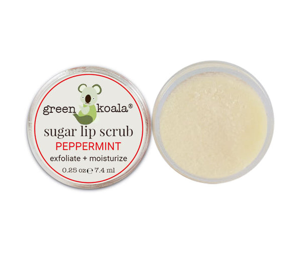 Green Koala Organic Peppermint Lip Sugar Scrub