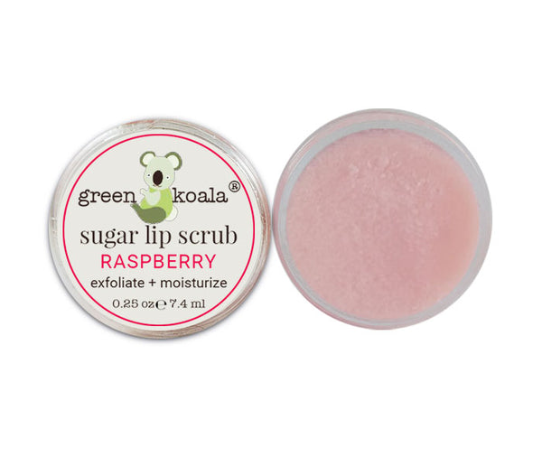 Green Koala Organic Raspberry Lip Sugar Scrub