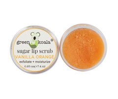Green Koala Organic Lip Sugar Scrub 3-Pack Gift Set