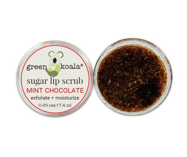 Green Koala Organic Chocolate Peppermint Lip Sugar Scrub