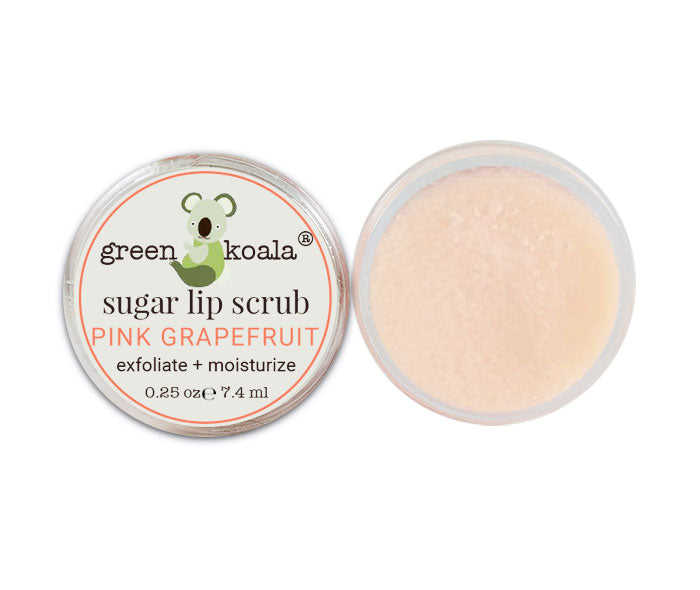 Green Koala Organic Pink Grapefruit Lip Sugar Scrub