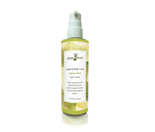Fresh Pear Natural Body Wash