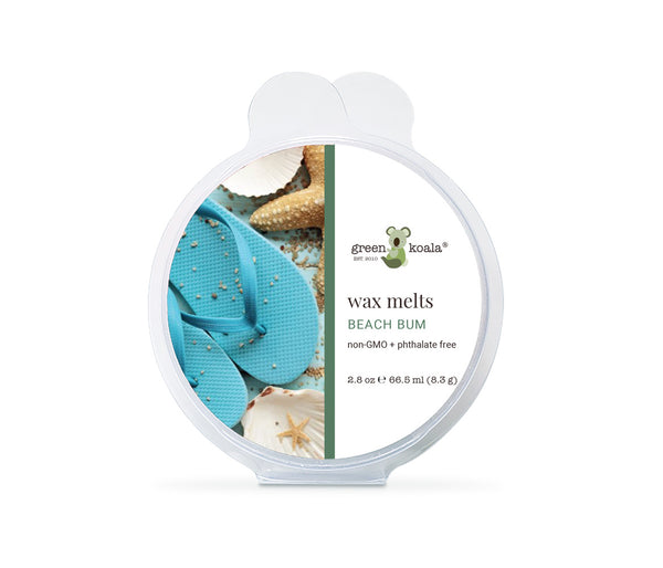 Green Koala Organic Beach Bum Eco-Luxury Wax Melts