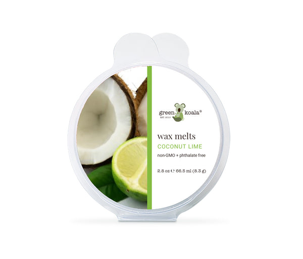 Green Koala Organic Coconut Lime Eco-Luxury Wax Melts