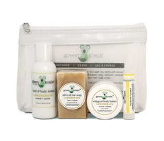 Green Koala Organic Lemongrass Mini Travel Gift Set