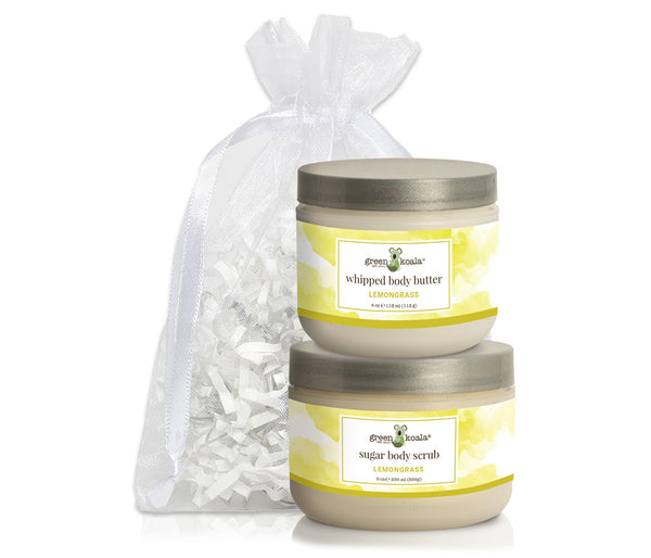 Green Koala Organic Lemongrass Nourishing Gift Set