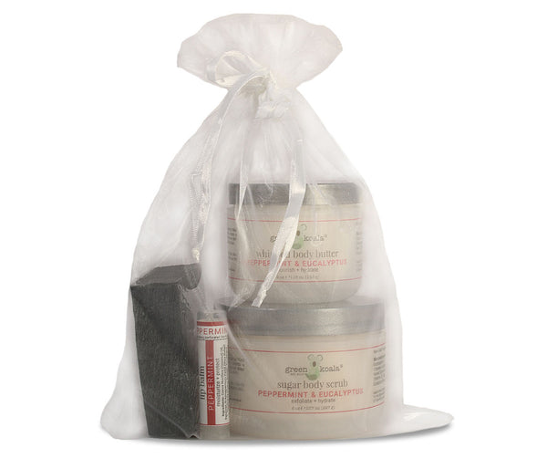 Green Koala Organic Peppermint & Eucalyptus Body Care Gift Set
