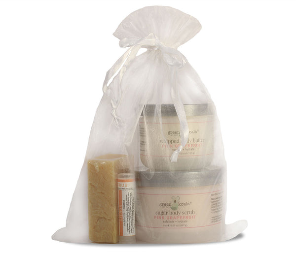 Green Koala Organic Pink Grapefruit Body Care Gift Set