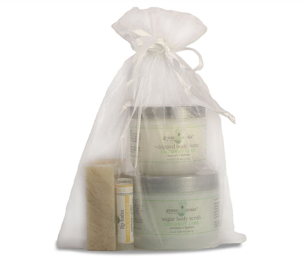 Organic Tropical Body Care Gift Set