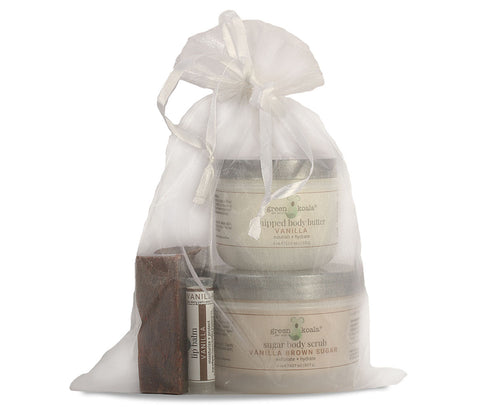 Green Koala Organic Vanilla Body Care Gift Set
