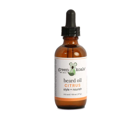 Green Koala Organic Citrus Beard Oil