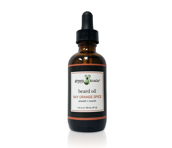 Green Koala Organic Bay Orange Spice Beard Oil