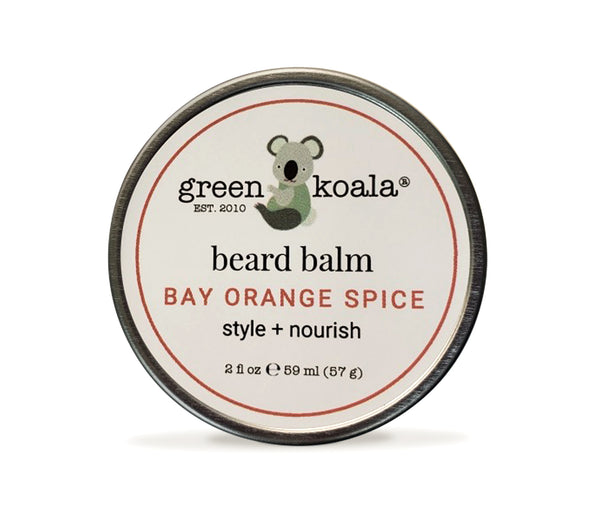 Bay Orange Spice Beard Balm