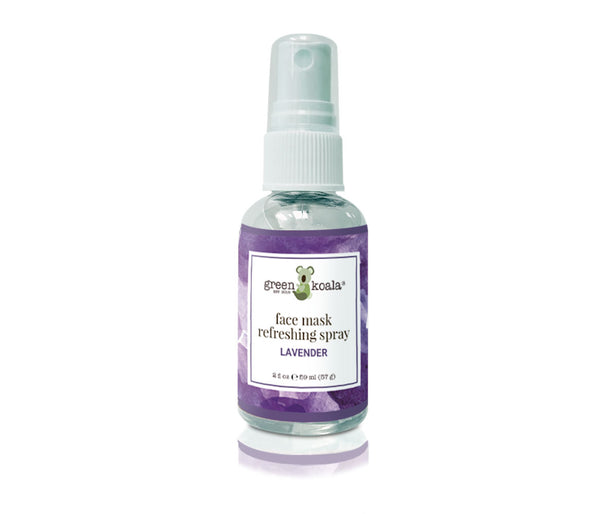 Green Koala Organic Lavender Face Mask Refreshing Spray