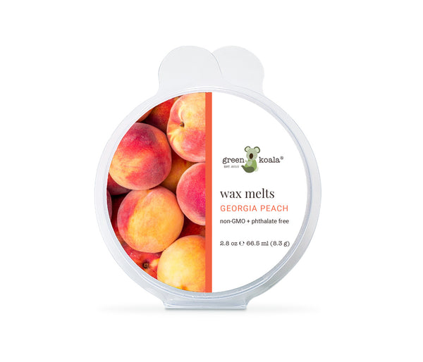 Green Koala Organic Georgia Peach Eco-Luxury Wax Melts