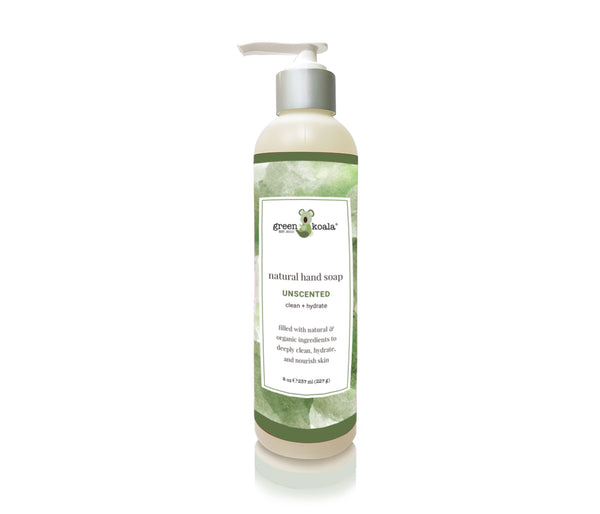 Unscented Liquid Hand Soap in an 8 oz bottle with pump.