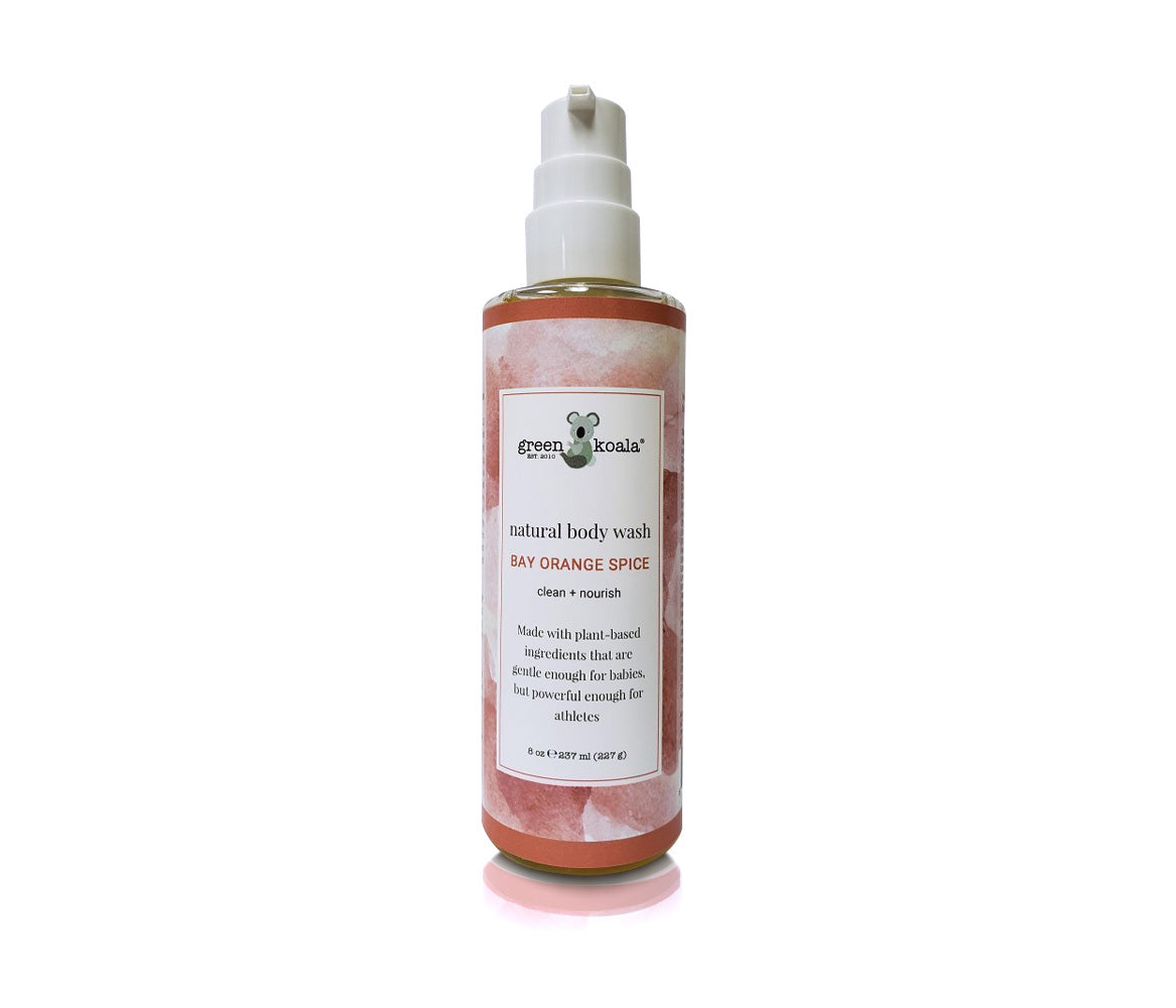 Green Koala Organic Bay Orange Spice Body Wash