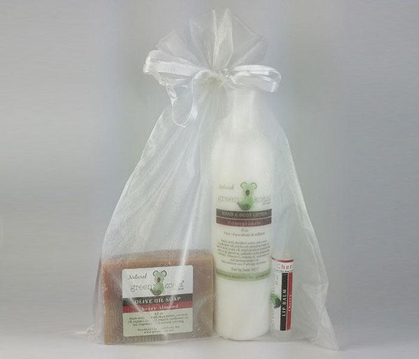 Green Koala Organic Cherry Pomegranate Essentials Gift Set