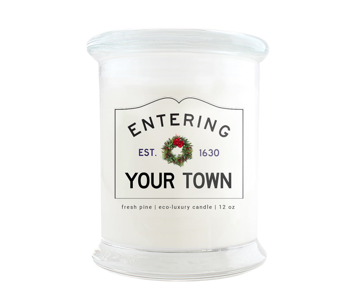 Holiday Hometown Eco-Luxury Candles