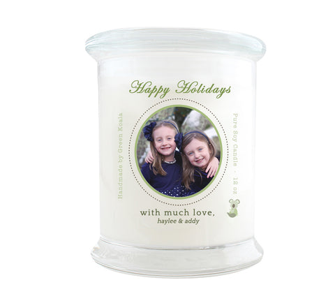 Green Koala Personalized Luxury Soy Candle