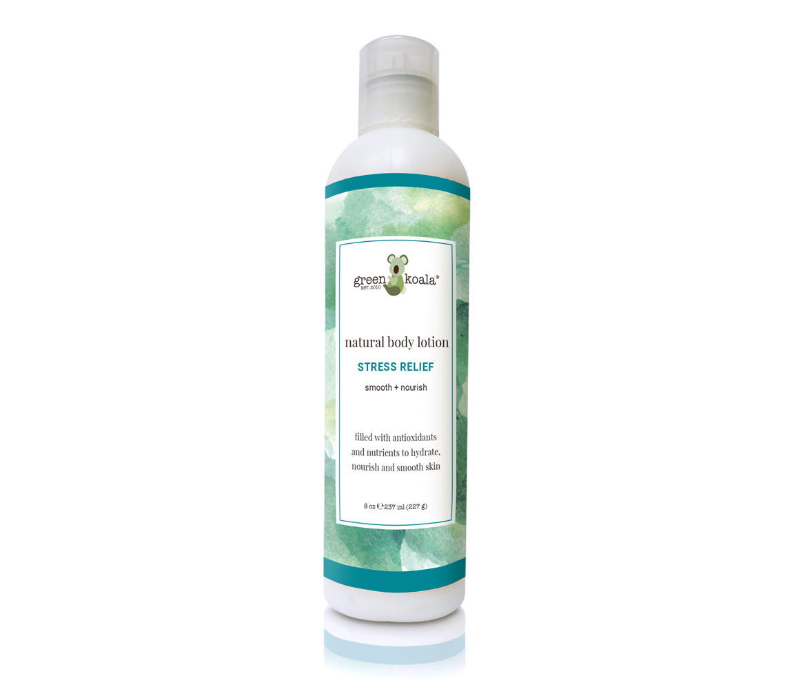 Paraben-Free Organic Stress Relief Lotion
