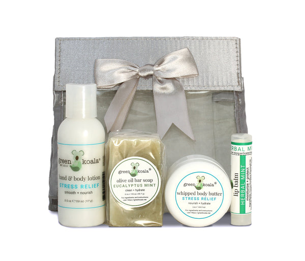 Green Koala Organic Stress Relief Mini Travel Gift Set