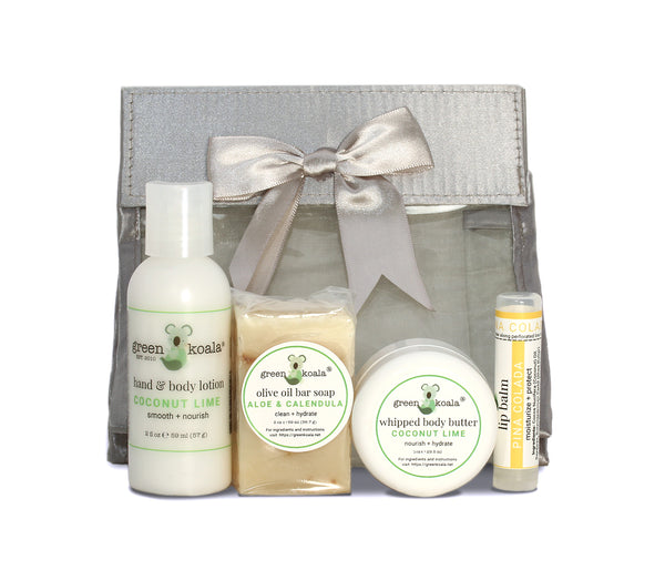 Green Koala Organic Tropical Mini Travel Gift Set