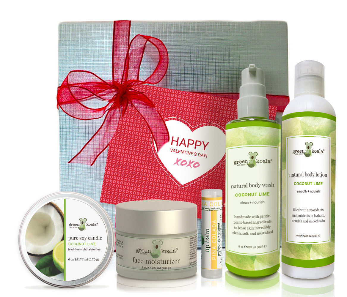 Coconut Lime Ultimate Valentine's Gift Box Set
