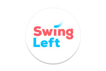 Swing Left Logo Sticker - 10 pack