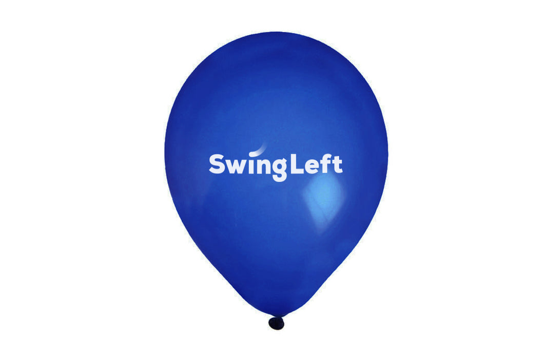 Swing Left Balloons - 10 count