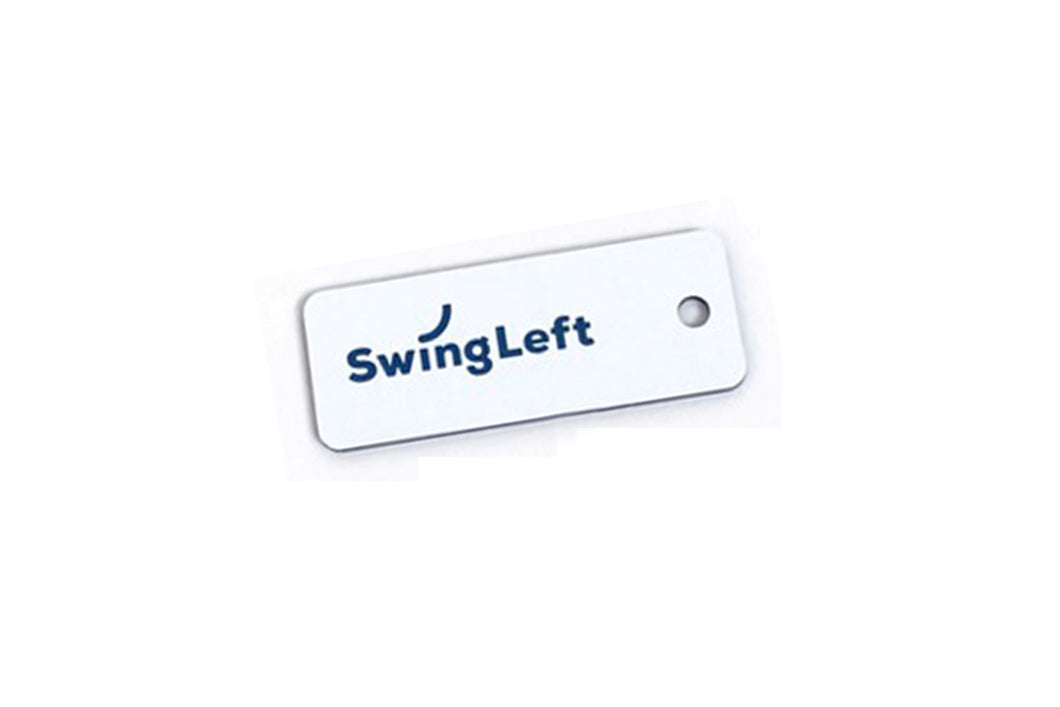 Swing Left Keytag from Various Keytags