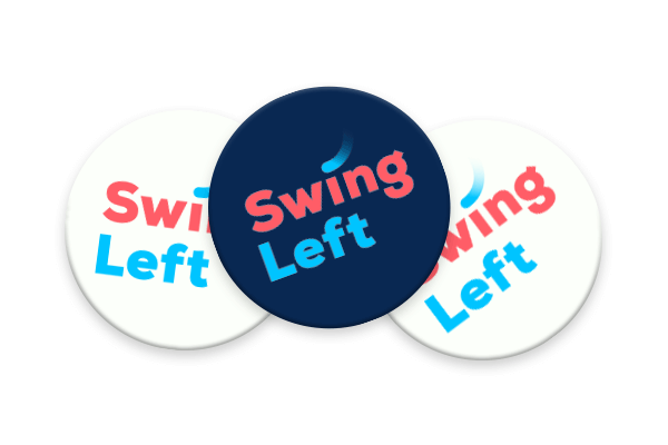 Swing Left Logo Button