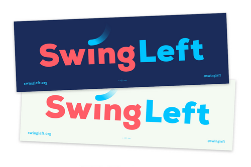 Swing Left Placard