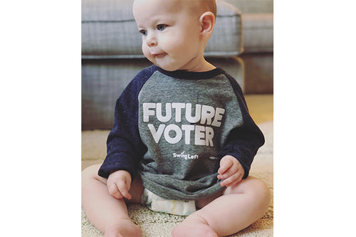 Infant/Toddler/Youth Voter Baseball Shirt