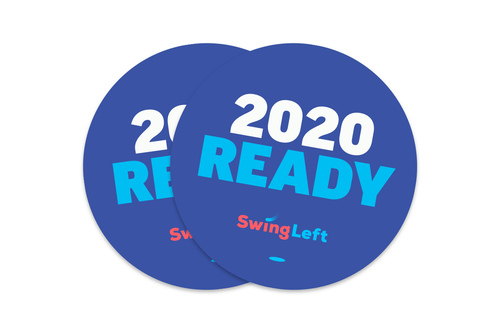 2020 Ready Sticker - Pack of 10