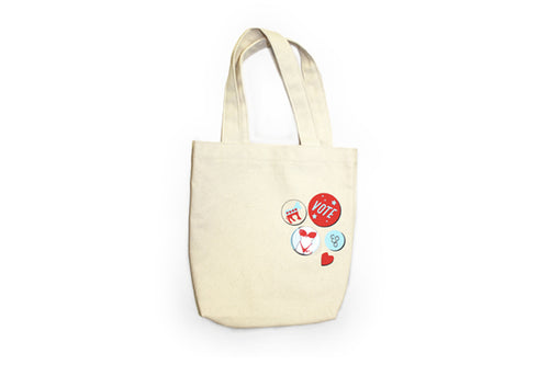 Edie Parker Canvass Tote