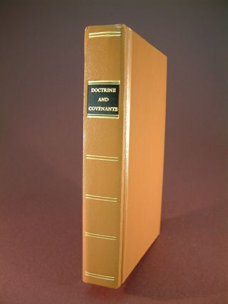 Doctrine and Covenants - 1835 (Heritage Replica)