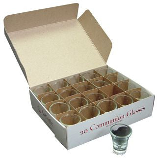 Communion Cups (Glass)