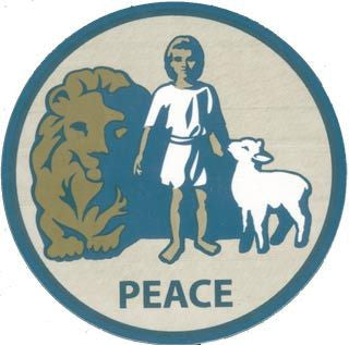 Decal - Peace Seal (Inside)