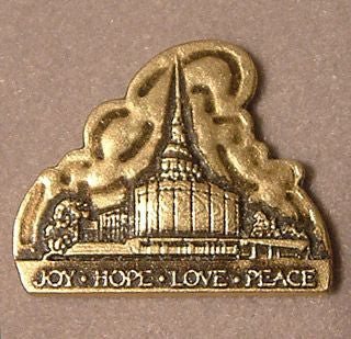 Lapel Pin - Joy, Hope, Love, Peace
