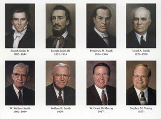 Postcard - Church Presidents