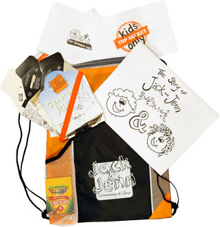 Jack & Jenn Activity Bag