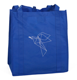 Origami Dove Shopping Tote