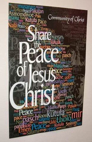 Poster - Share the Peace of Jesus Christ