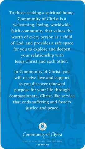 Community of Christ Promise Card