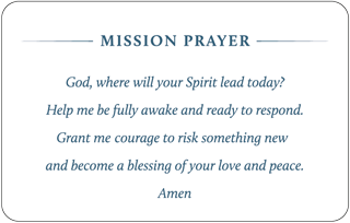 Mission Prayer Cards