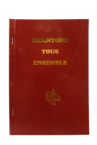 Chantons Tous Ensemble (Let Us Sing Tahitian French Hymnal)