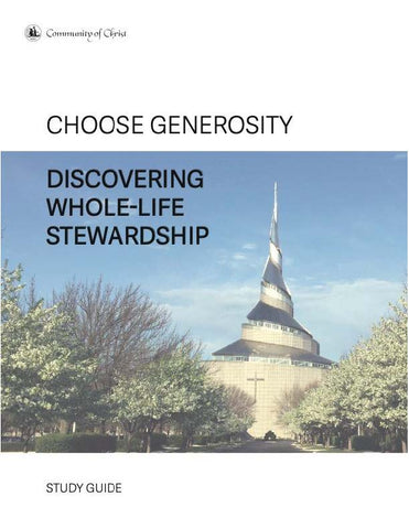 Choose Generosity Study Guide (PDF download)