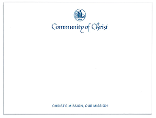 Adhesive Notes - Community of Christ